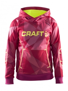 Mikina CRAFT Flex Hood Junior